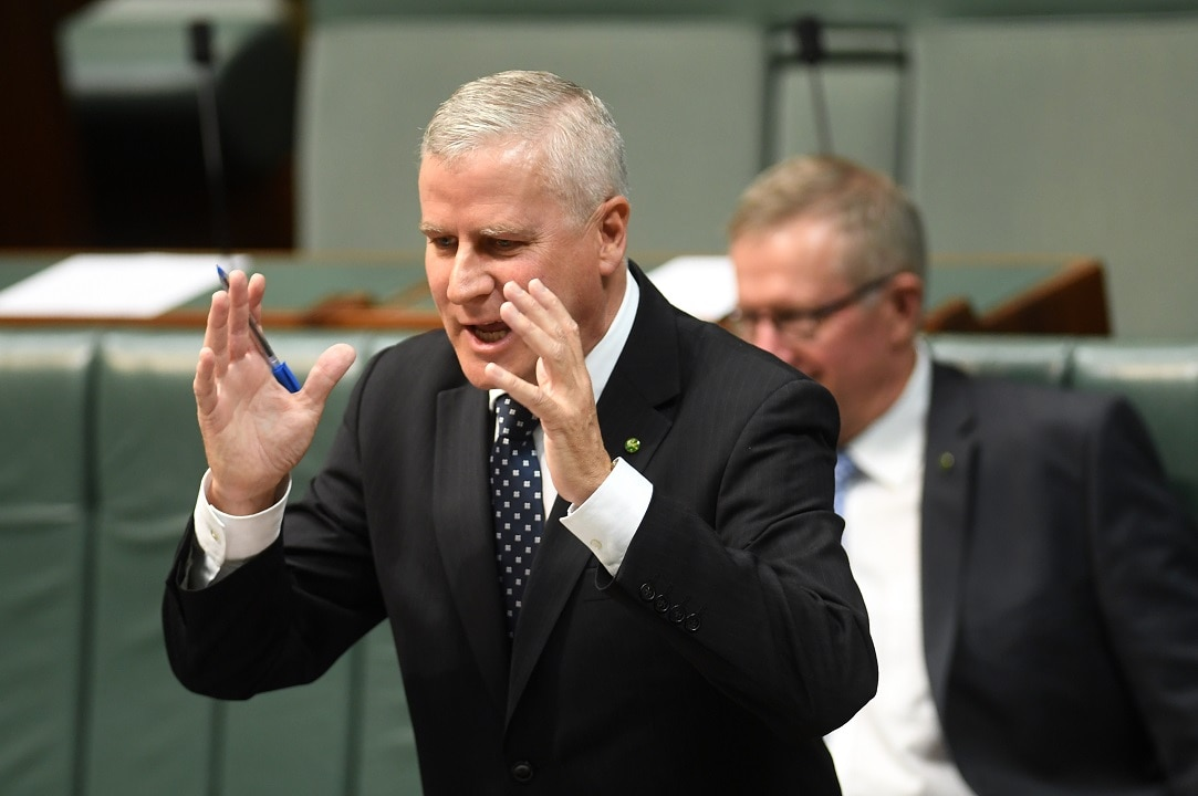 Michael McCormack is the front runner to become the next leader of the Nationals following Barnaby Joyce's resignation.
