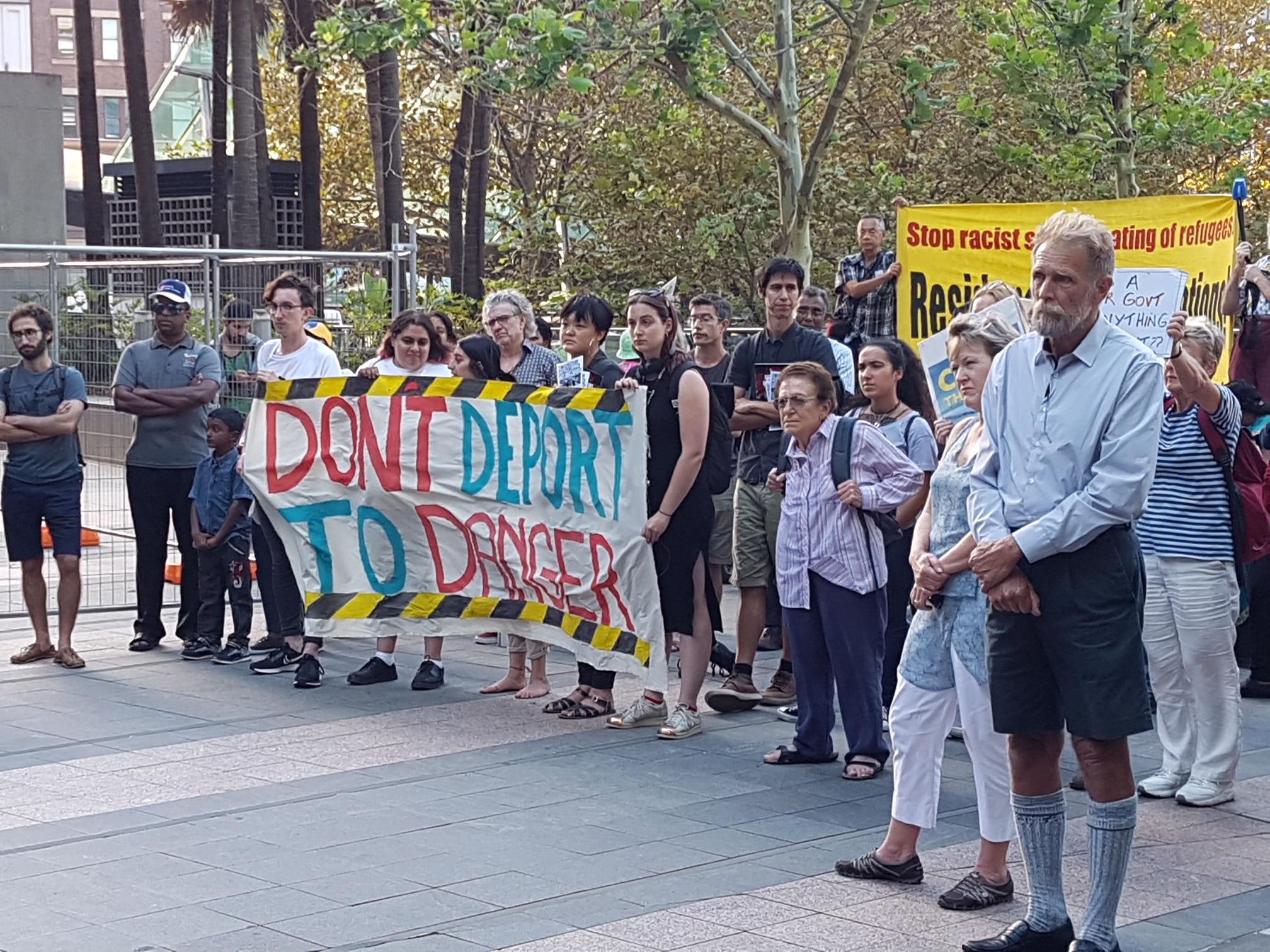 The Sydney protest.