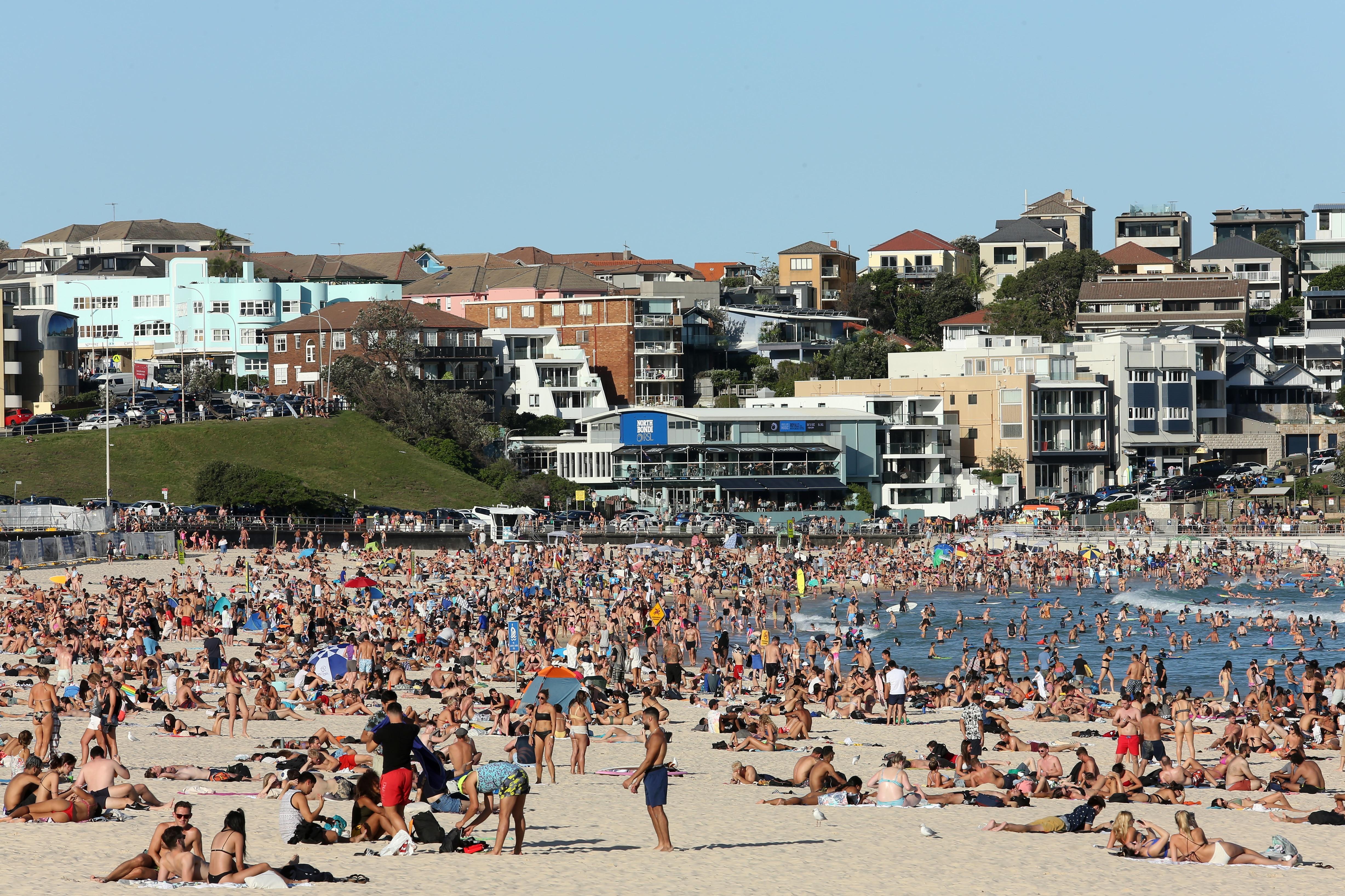 Sydney's Bondi Beach on Friday.