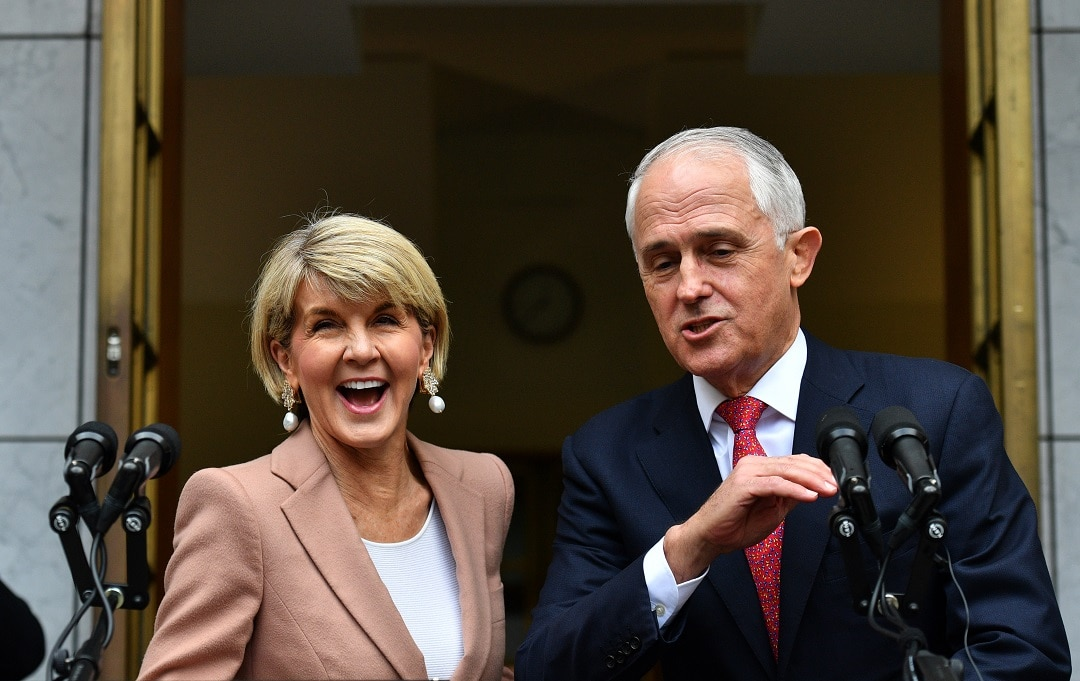Julie Bishop to quit