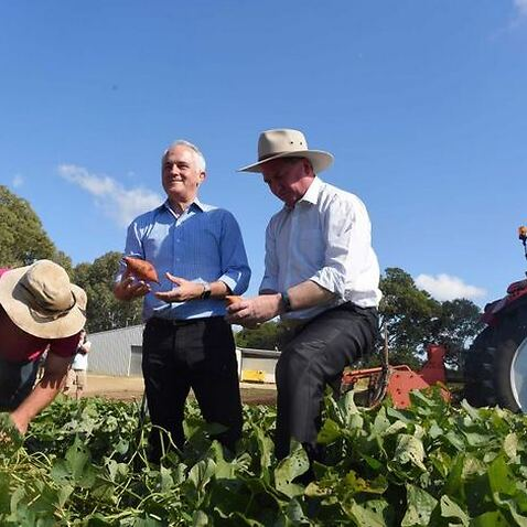 Barnaby Joyce, pictured with the Prime Minister, says the register will allow officials to make fact-based judgements
