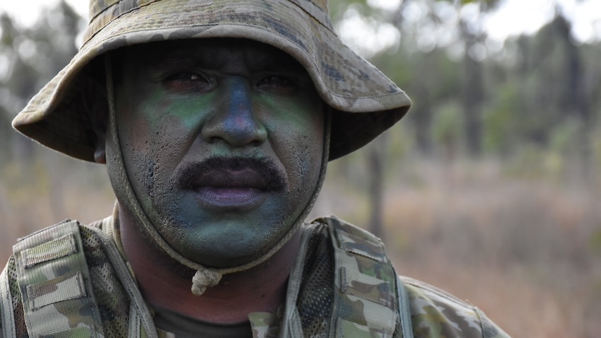 Indigenous soldiers are being recruited by the Australian Army for their unique skills