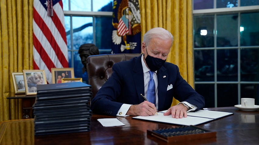 The 17 executive orders and directives Joe Biden has already signed and what they aim to do – SBS News