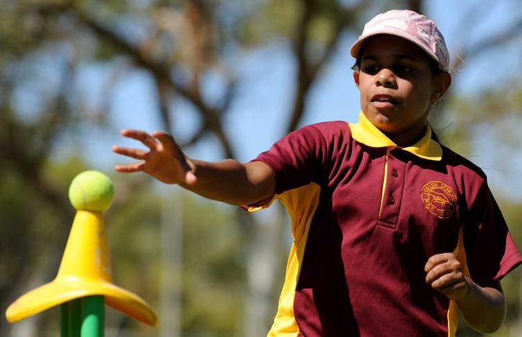 Mothers and aunts are important role models for children who want to try different sports.