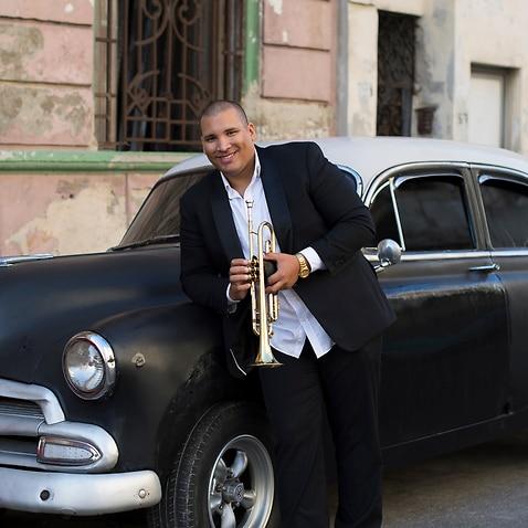 Cuban musician Lazaro Numa