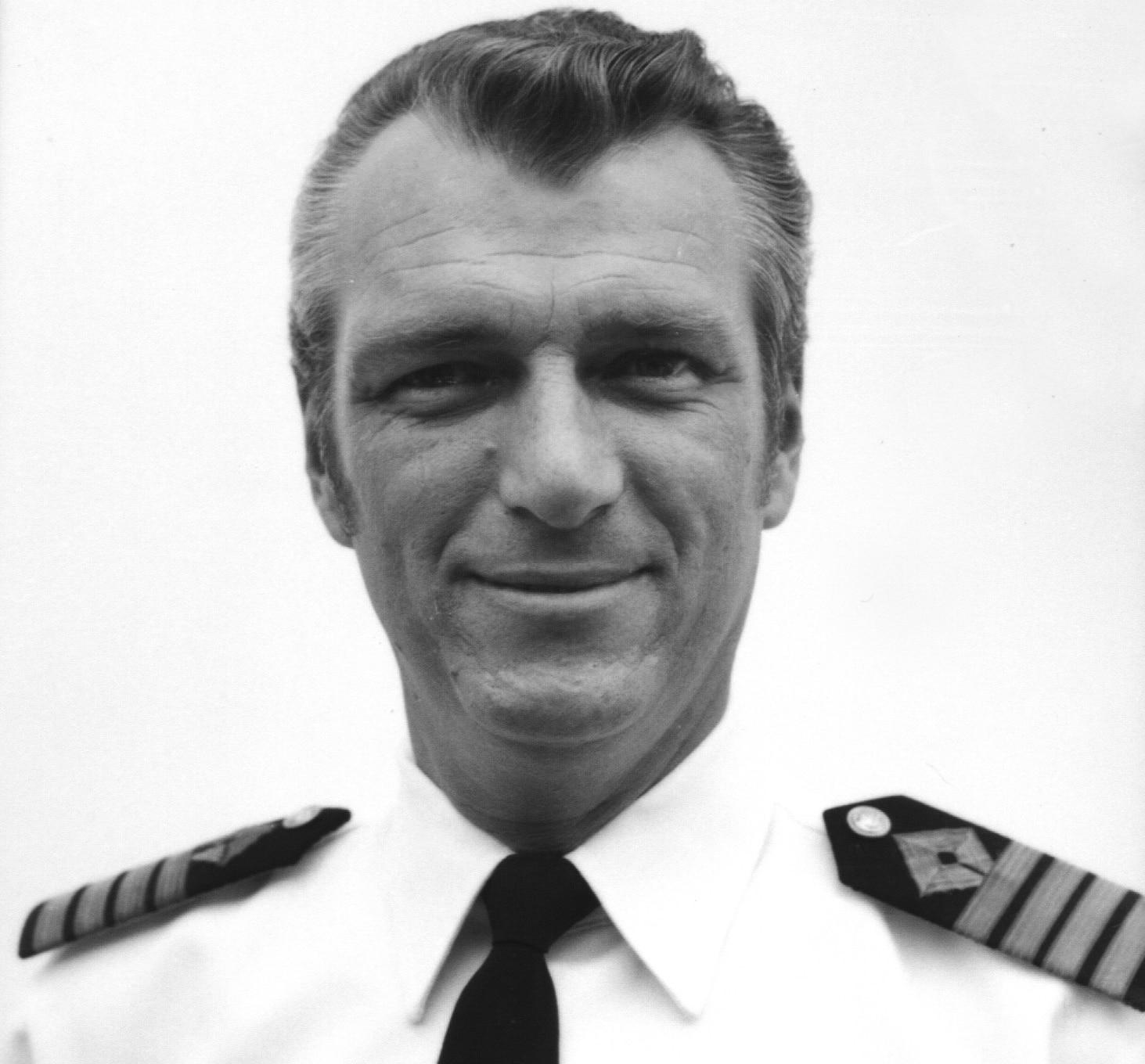 Captain Arne Rinnan.