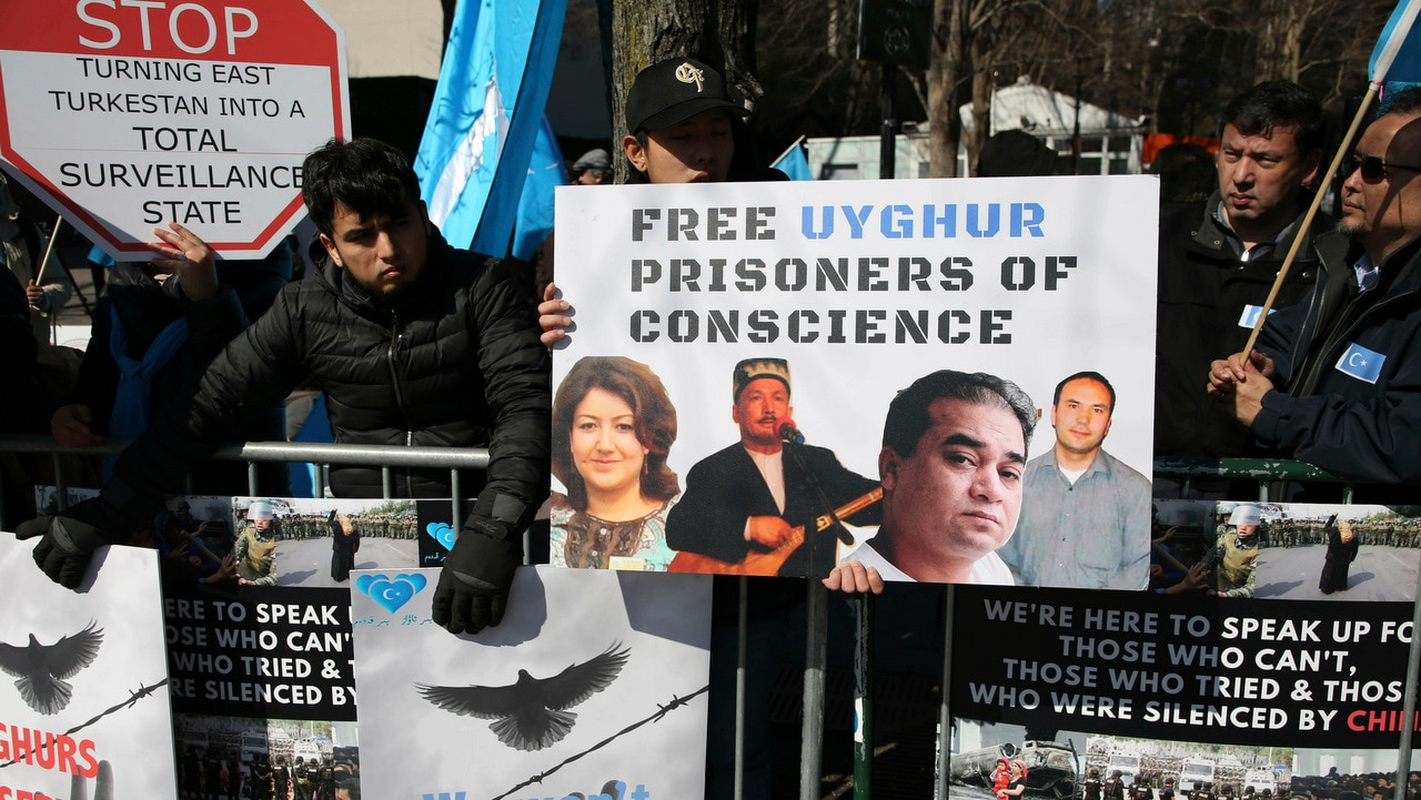 Members of the Uighur Muslim ethnic group call on China to post videos of their relatives who have disappeared into a vast system of internment camps.