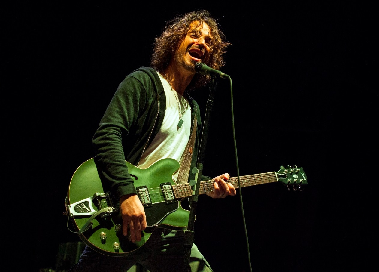 In this May 19, 2013 file photo, Chris Cornell of Soundgarden performs at Rock on the Range in Columbus, Ohio. (AAP)