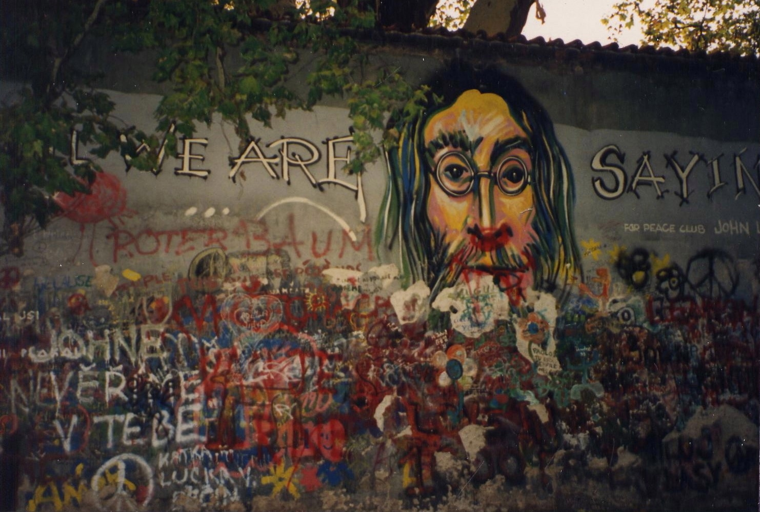 Portion of the wall. 1993