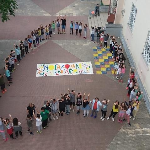 The Hellenic Initiative Australia donated 30.000 to support volunteering in Greek public Schools