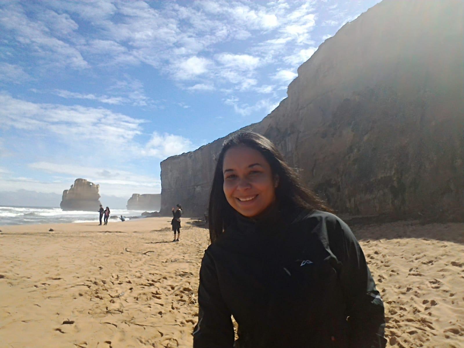 Maria Fernanda breast cancer survivor