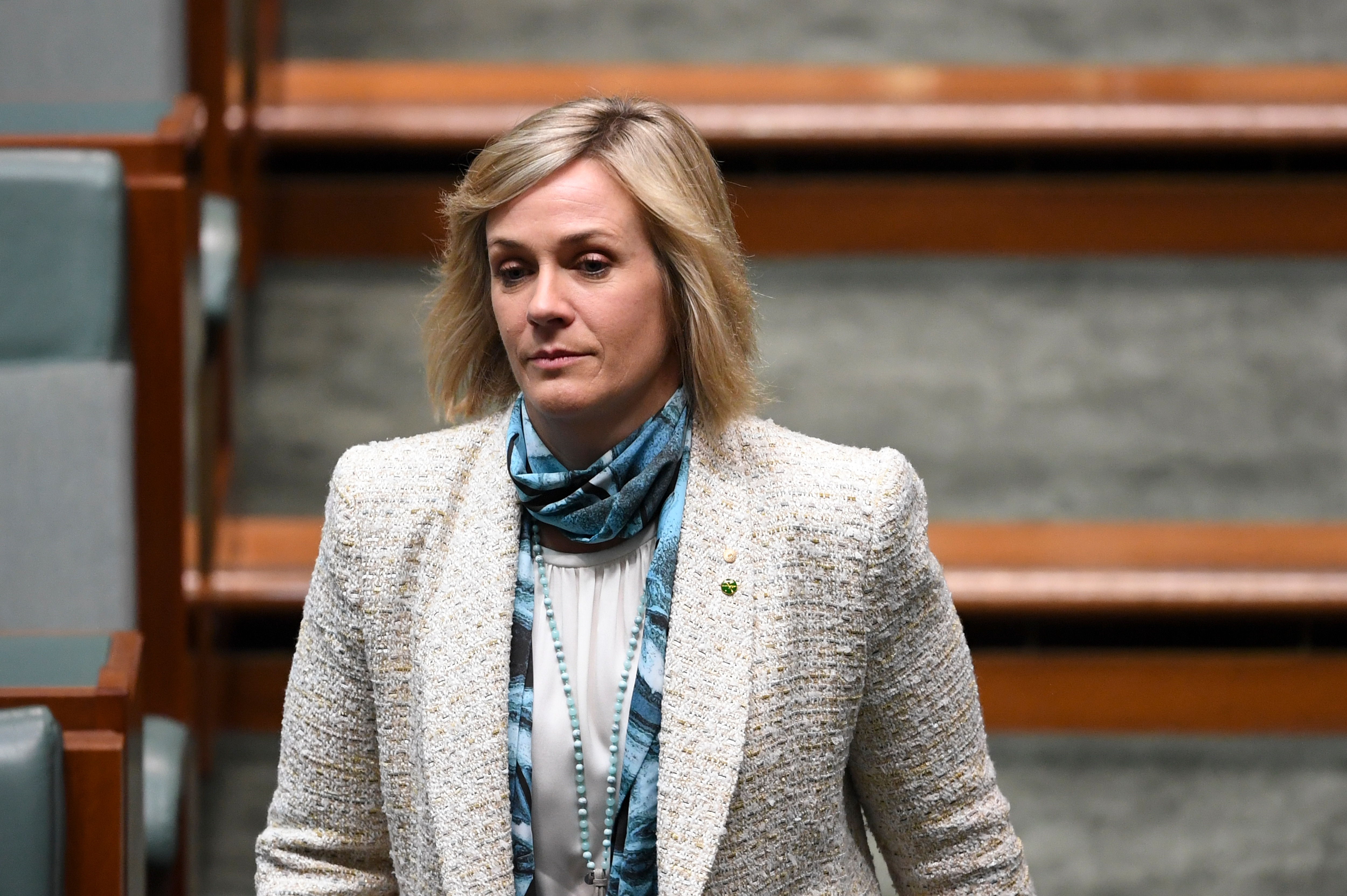 Crossbench MP Zali Steggall says she will push for stronger action on climate change.