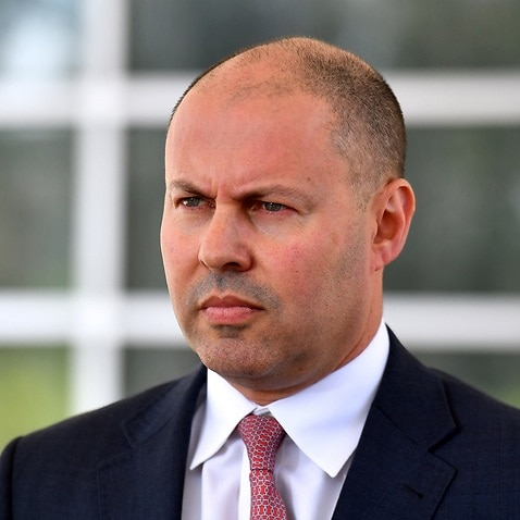 Treasurer Josh Frydenberg in Canberra.