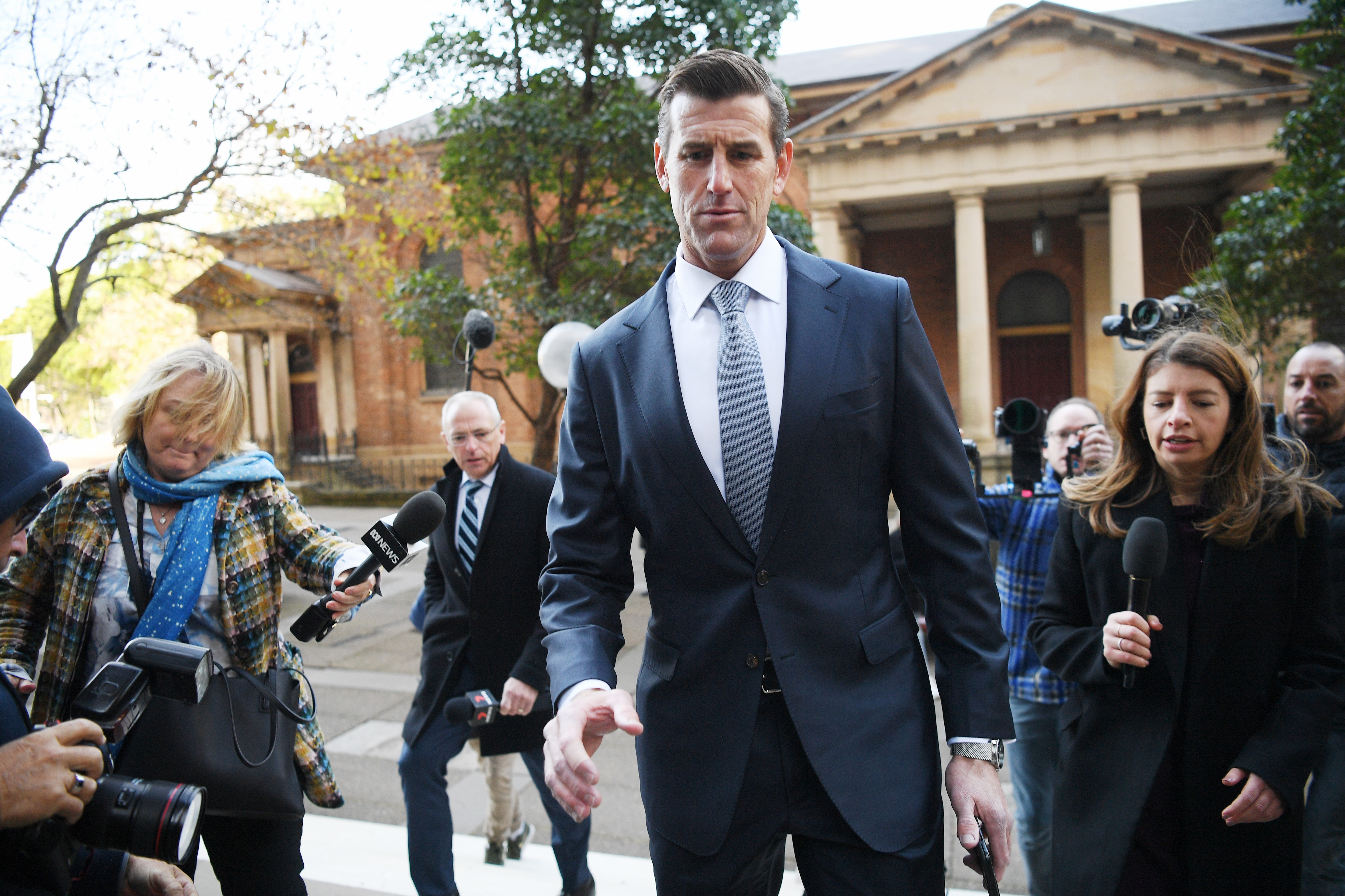 News articles 'destroyed' Ben Roberts-Smith's reputation, barrister says