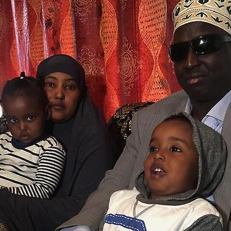 Dr Siyat Abdi and family