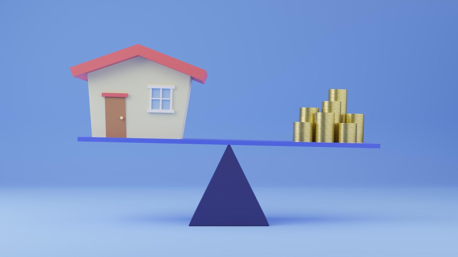 Balancing house and money