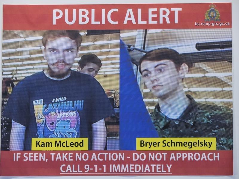 Canada: Bodies of teen murder suspects found