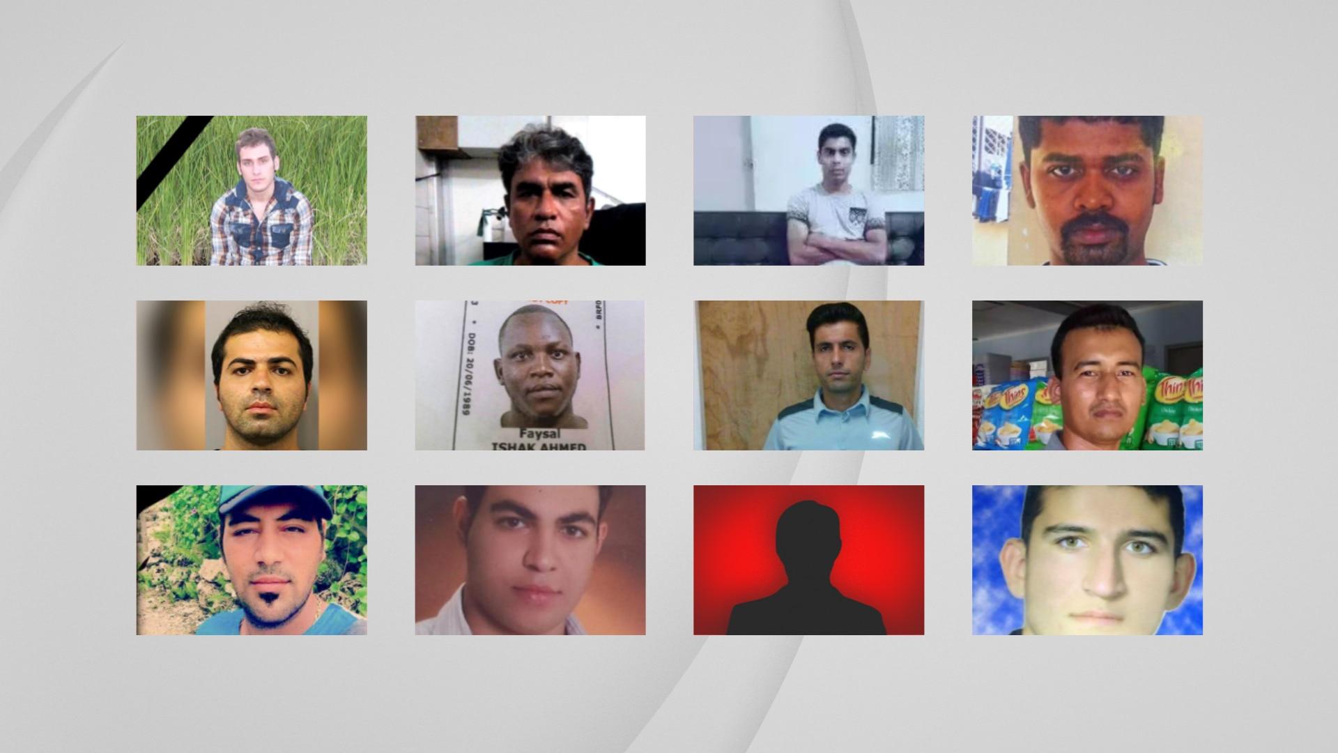 Twelve refugees and asylum seekers have died.