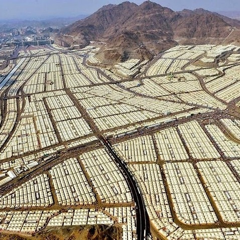 Oil rich Saudi Arabia is under fire over its failure to take a single refugee from Syria while an air conditioned tent city capable of housing 3 million people sits idle. (Akram Abahre)