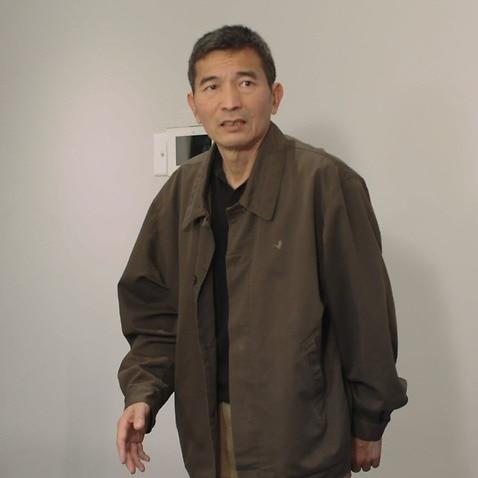 舞台剧《刘先生的院子》中刘先生的扮演者Yanlong Zhu