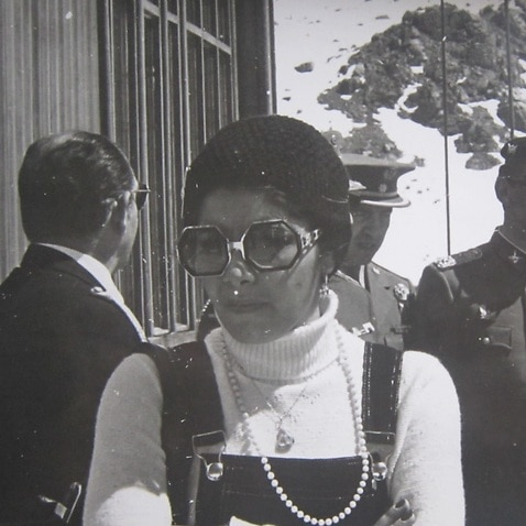 Adriana Rivas during her time working for the Pinochet dictatorship.