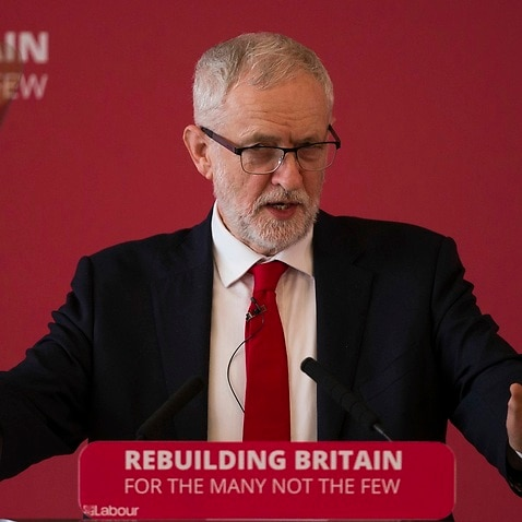 Labour leader Jeremy Corbyn says the party will back a second Brexit vote.