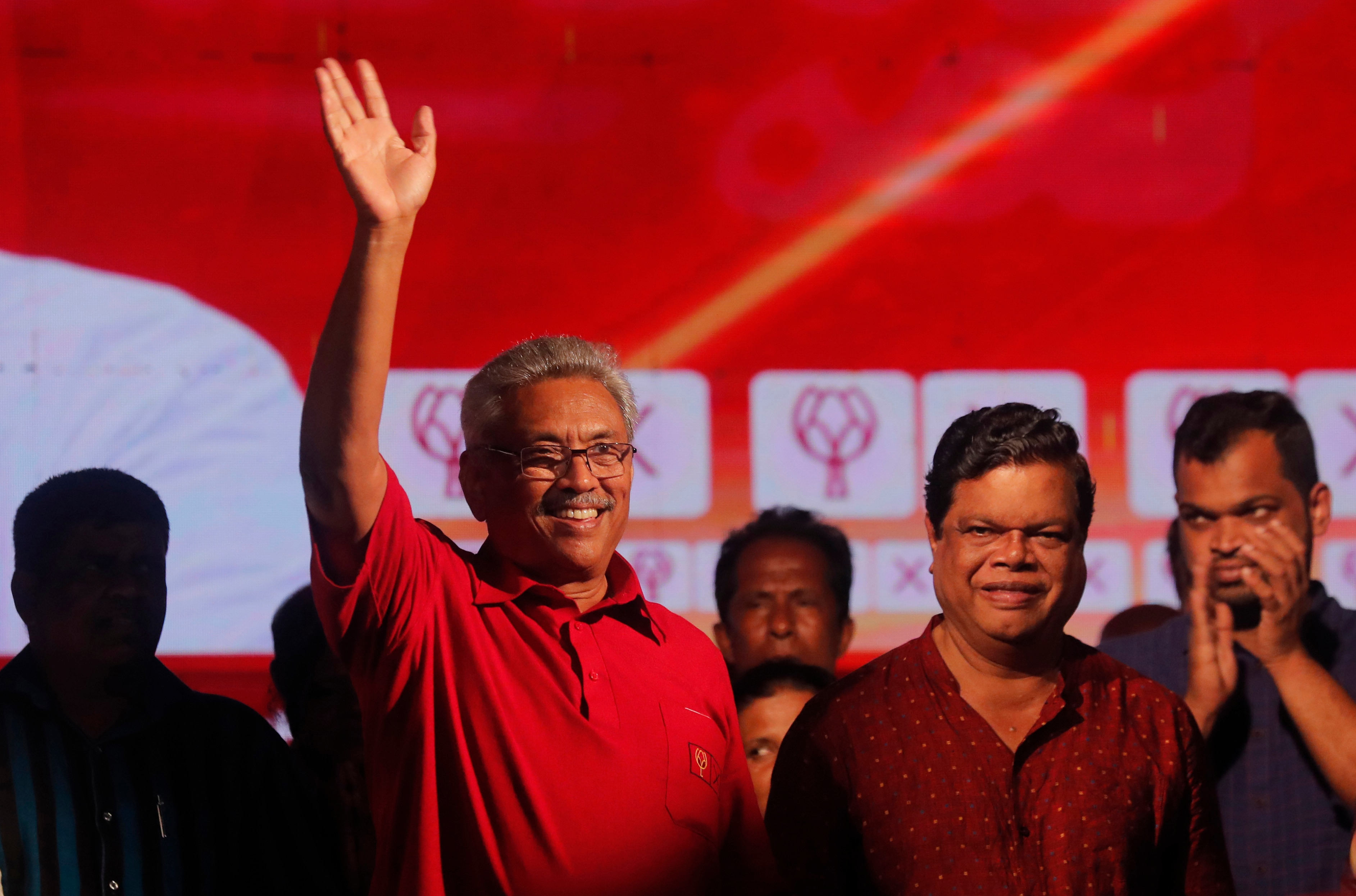 Sri Lanka's former defence secretary Gotabaya Rajapaksa is one of the front-runners in the country's Presidential election.