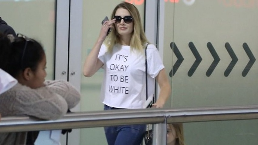 Image for read more article ''It's OK to be white': Anti-immigration activist Lauren Southern in Australia '
