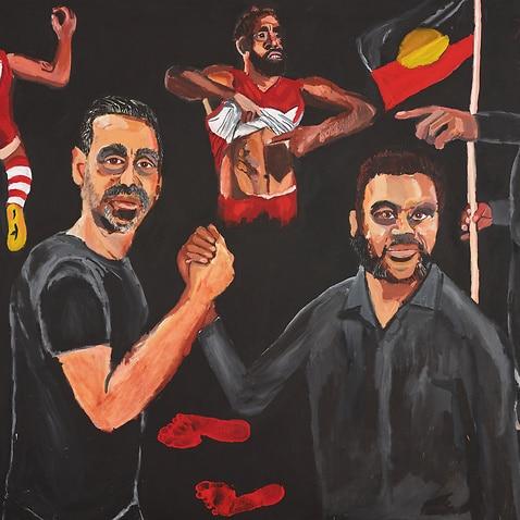 Archibald Prize winning portrait