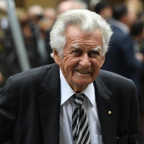 Former prime minister Bob Hawke