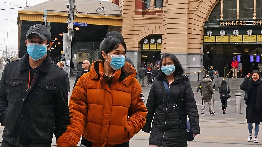 Image for read more article 'Should Australians wear face masks amid Victoria's surge in new coronavirus cases? '