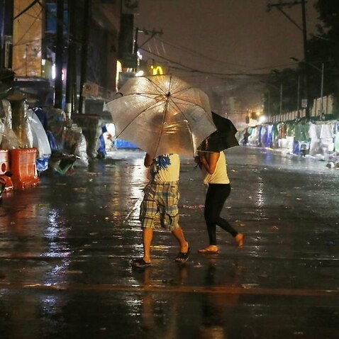 Typhoon lashes south China after killing dozens in Philippines