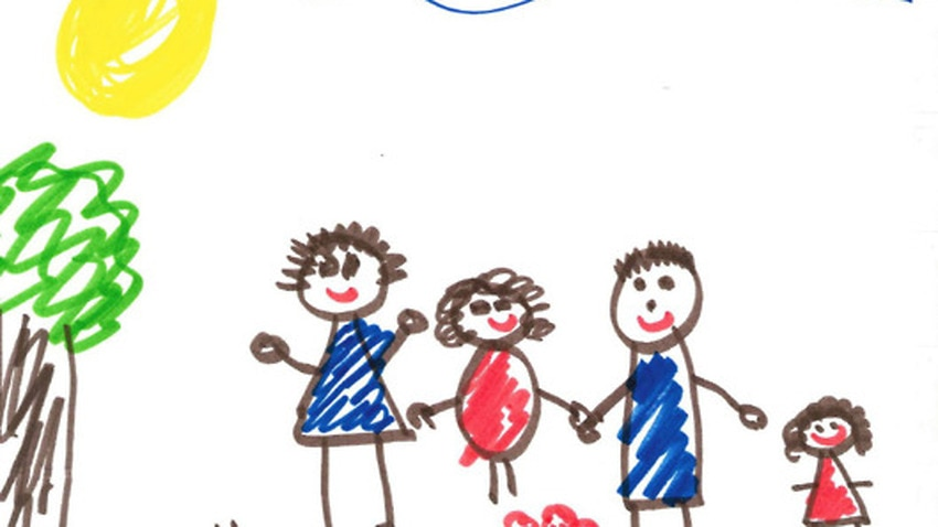 drawing of children what kids drawings reveal about their homes sbs news 2774