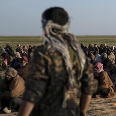Islamic State group militants