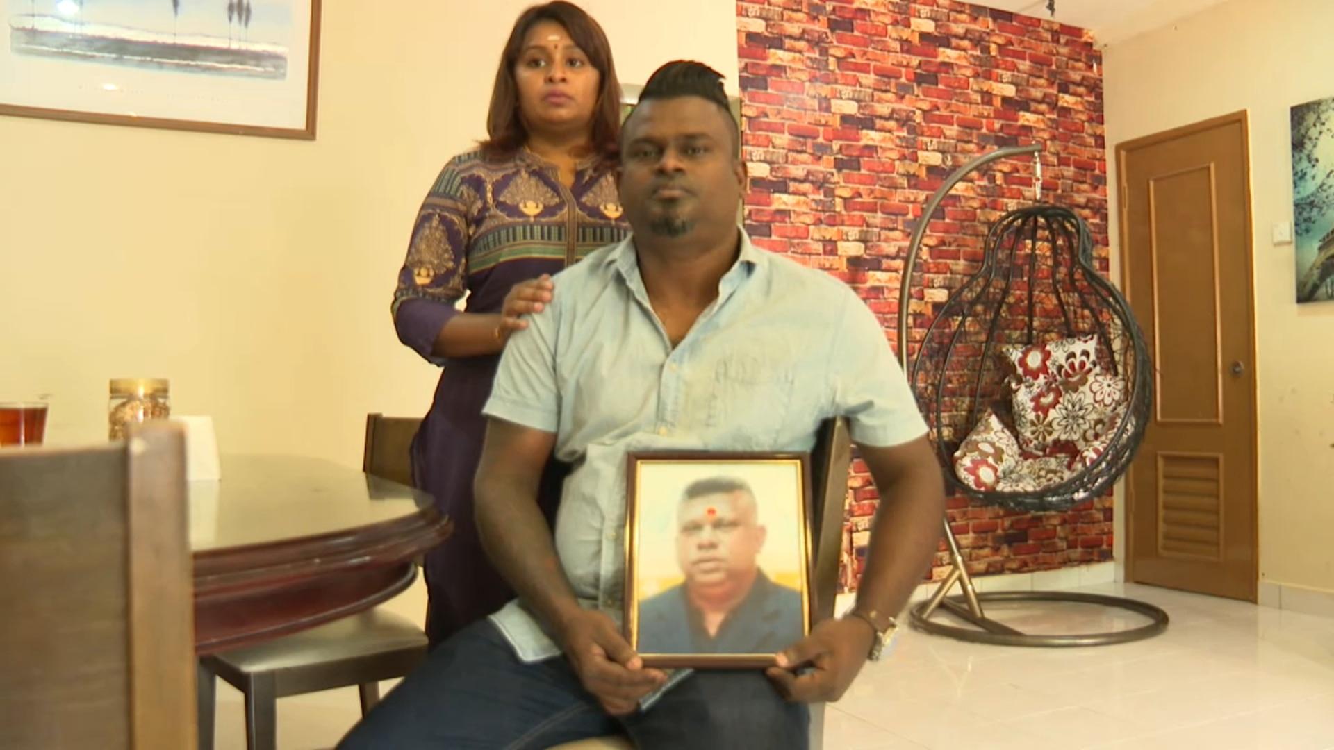 Balraj Suppiah and his wife Ganeshwari Moorthy