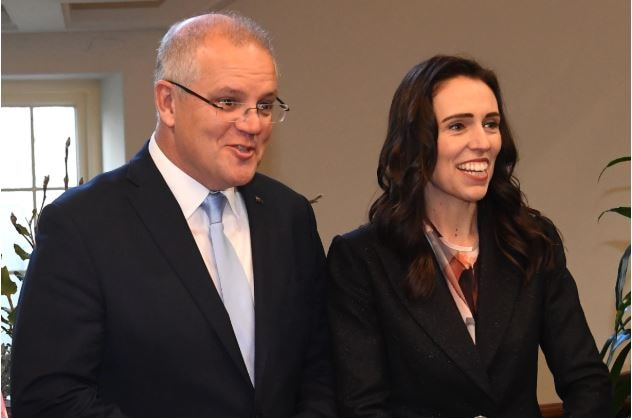 Prime Minister Scott Morrison was unmoved by NZ Prime Minister Jacinda Ardern's complaints about Australia's deportation policy. AAP