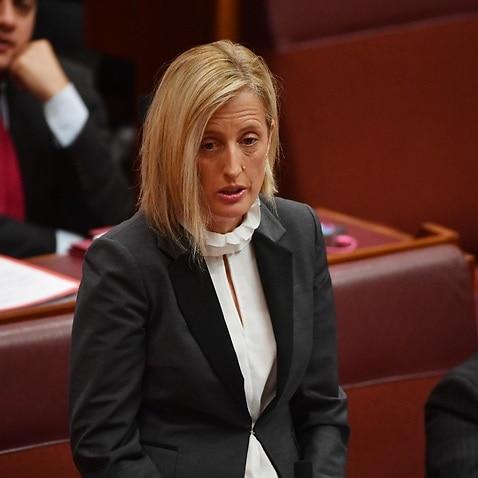 File image: Labor Senator Katy Gallagher