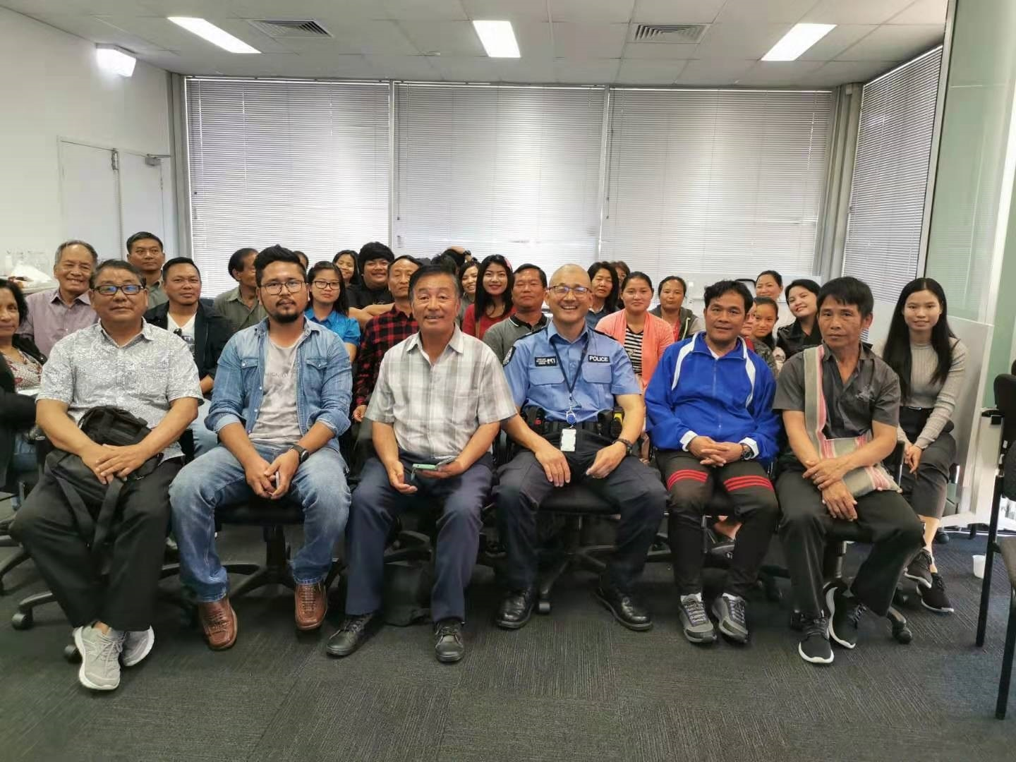Sam Lim and multicultural community