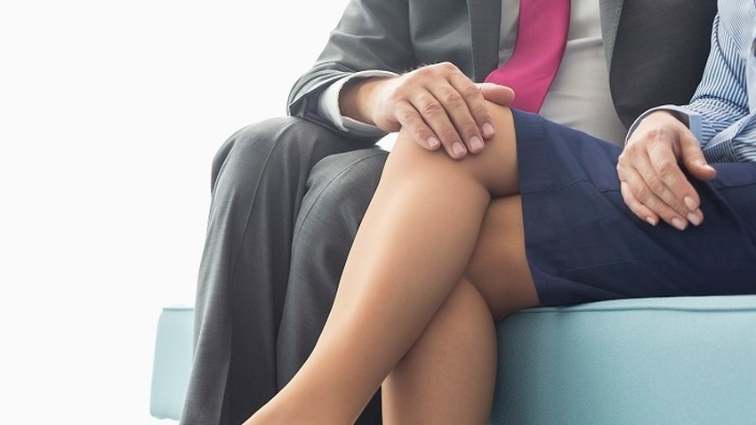 Two in five women say they are being sexually harassed in the workplace.