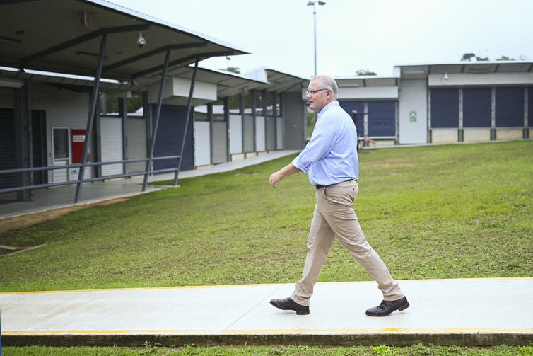 In the wake of the medevac bill passing, Morrison took the media on an expensive trip to Christmas Island.