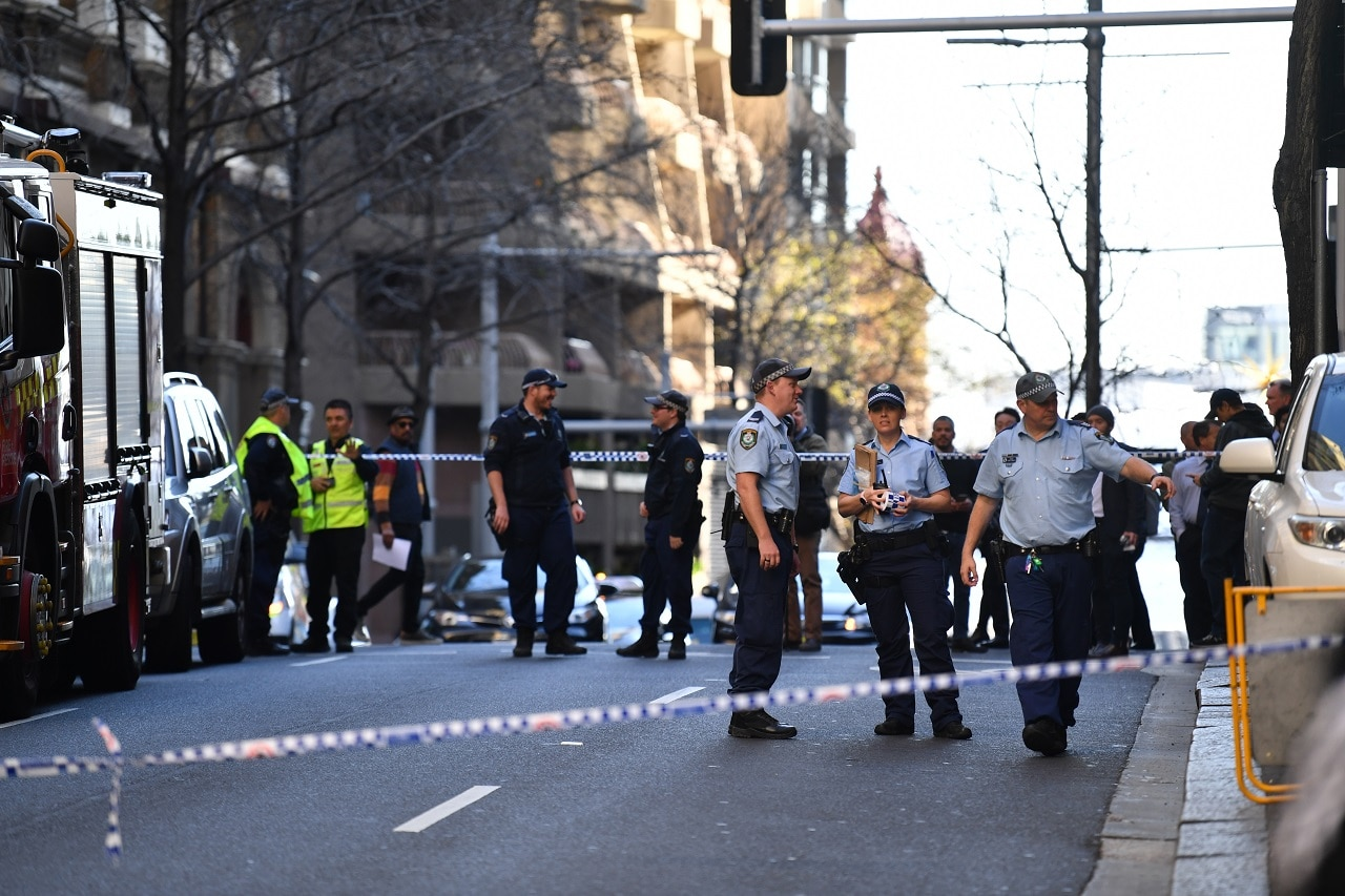 Armed man arrested in Sydney stabbing incident