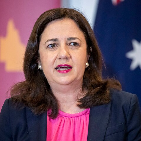 The prime minister accused the Queensland premier of 'boasting' about the border closures.