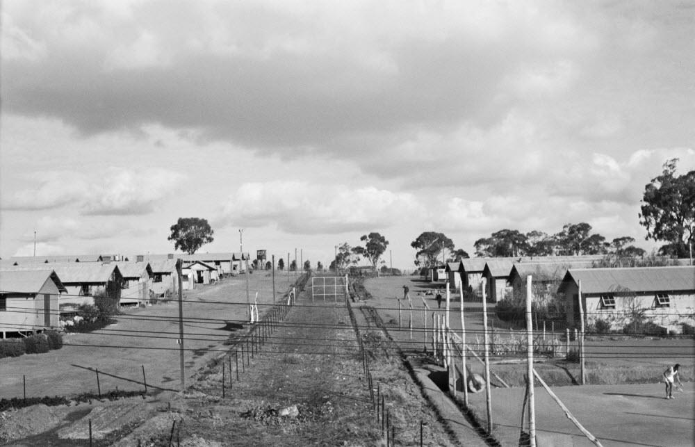 Tatura civilian internment camp (Photo courtesy of the Australian War Memorial)