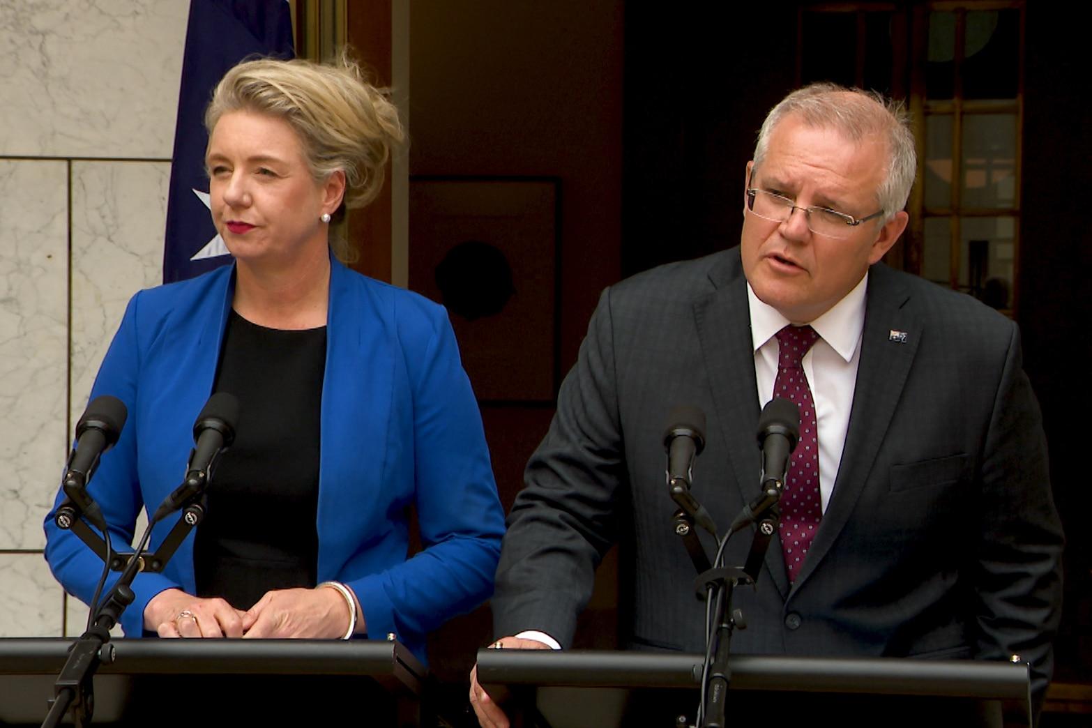 Prime Minister Scott Morrison is due to receive advice on Senator McKenzie.