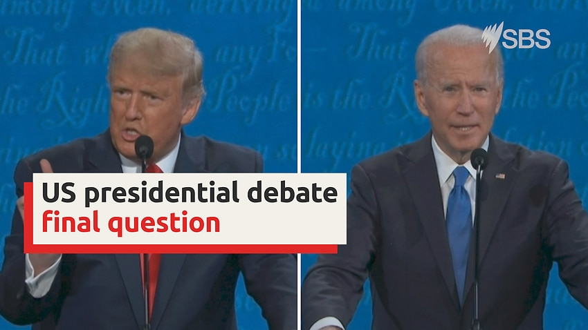 Donald Trump and Joe Biden give their final pitch to voters