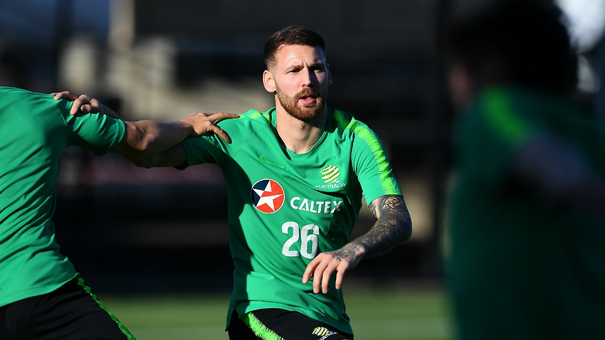 'I've been watching, studying' - Injured Boyle sets sights on Socceroos return