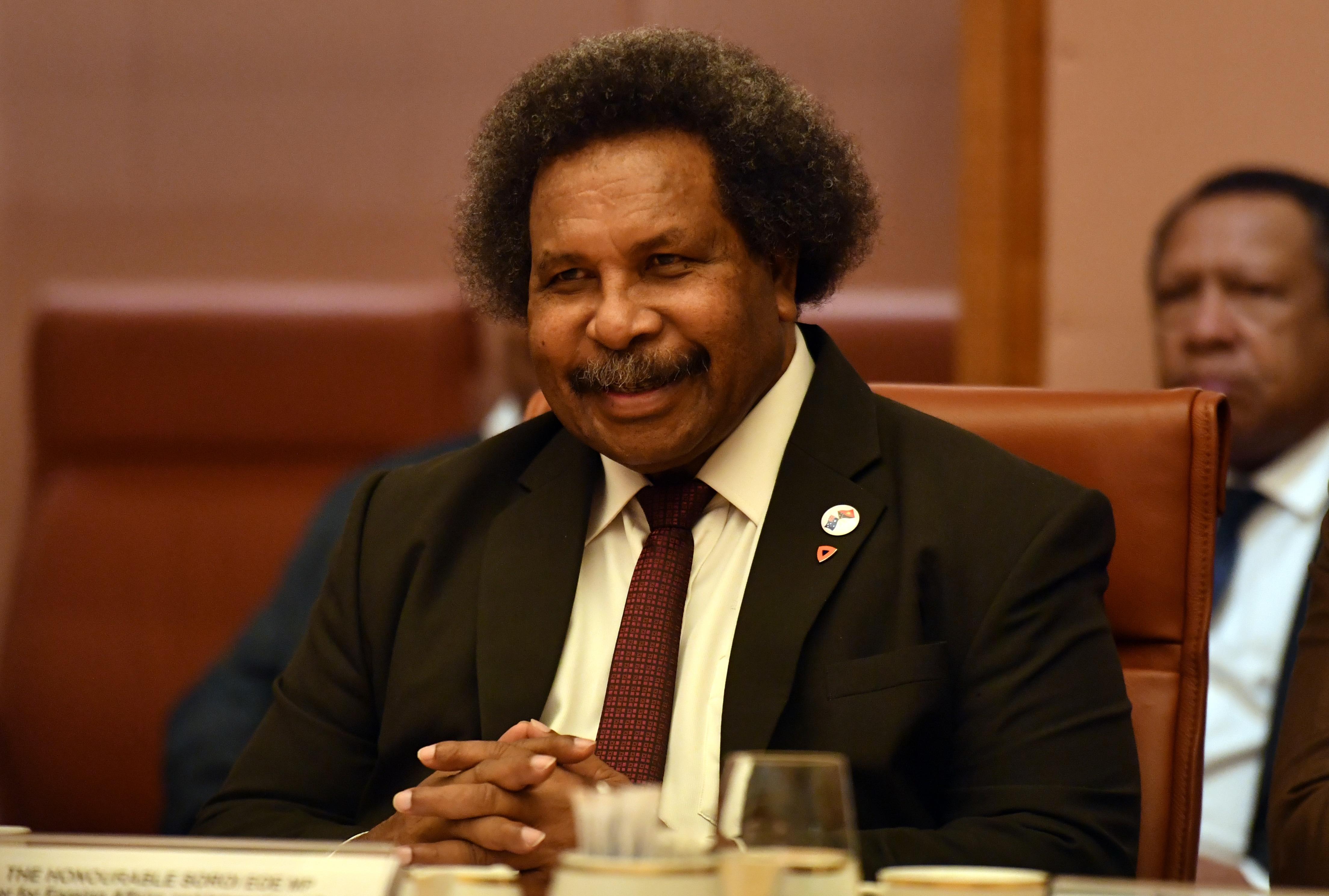 Papua New Guinea's Minister for Foreign Affairs Soroi Eoe.