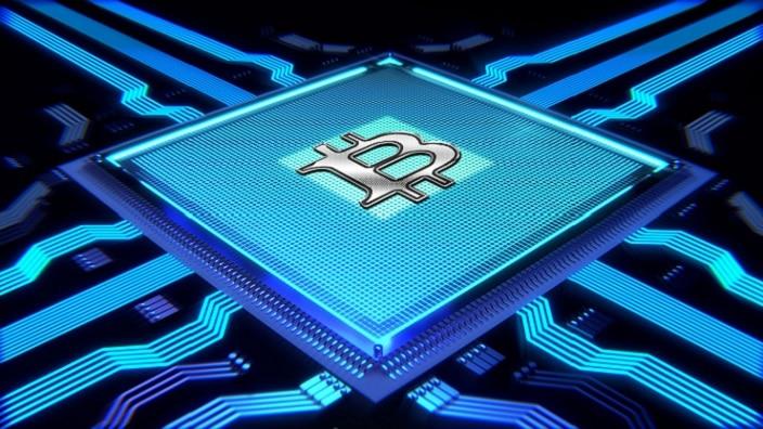Crypto Cryptocurrency Bitcoin Processor Mining