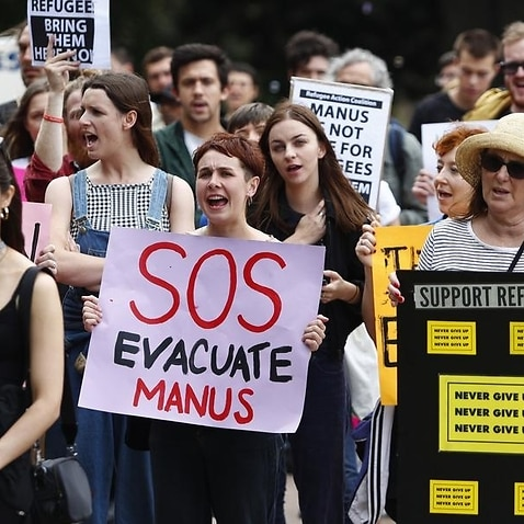 Hundreds of protesters rally in Sydney