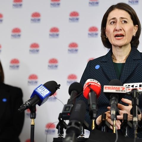 NSW Premier Gladys Berejiklian and Minister for Education Sarah Mitchell